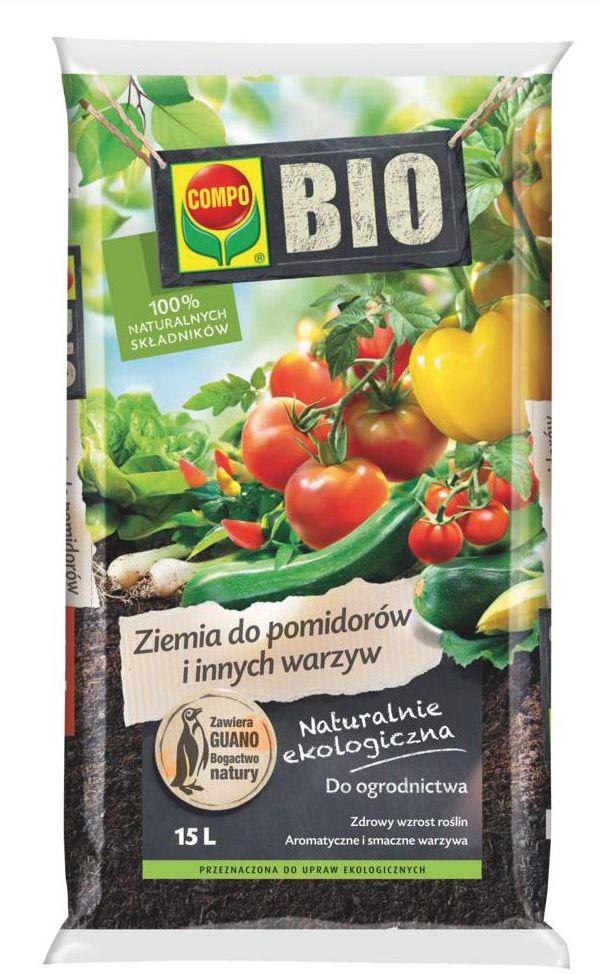 Podłoże do warzyw 15 l COMPO BIO