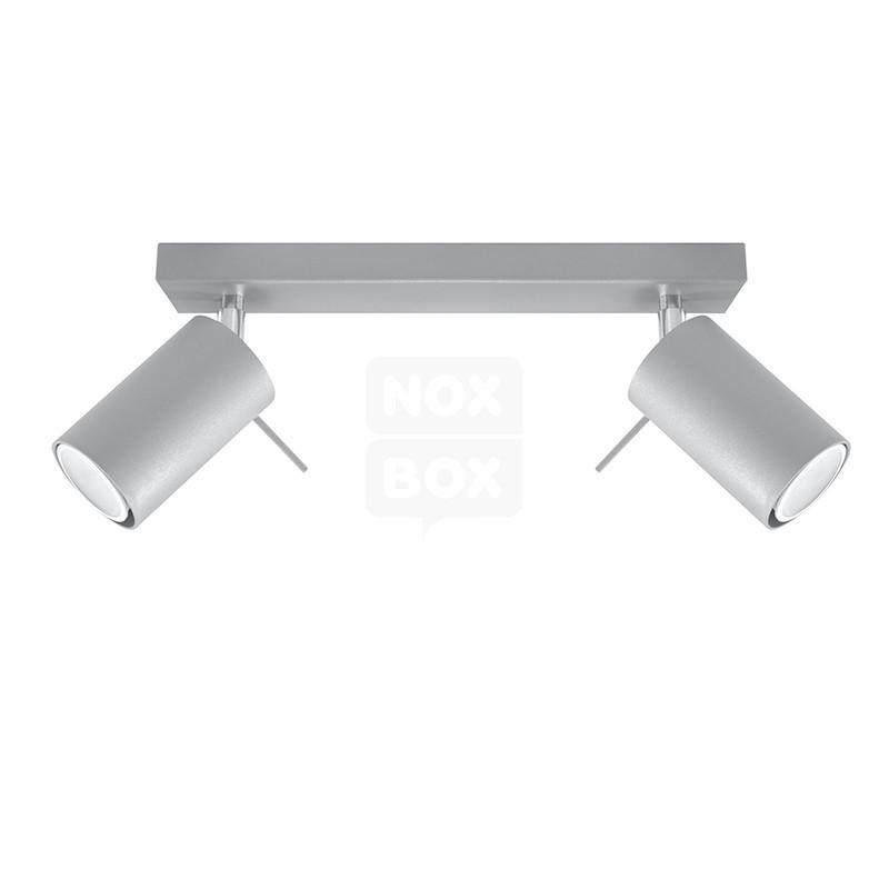 Lampa sufitowa RING 2 Szary SL.0450 Sollux  SPRAWDŹ RABATY  5-10-15-20 % w koszyku