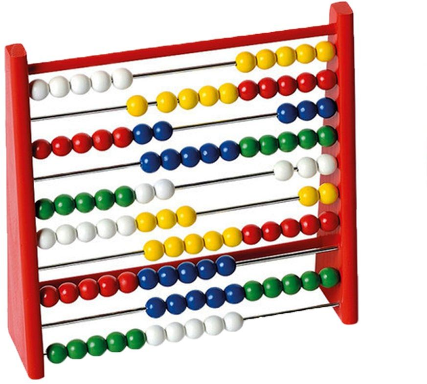 Beluga zabawki do zabawy 30041  ramka do liczenia, kolorowa