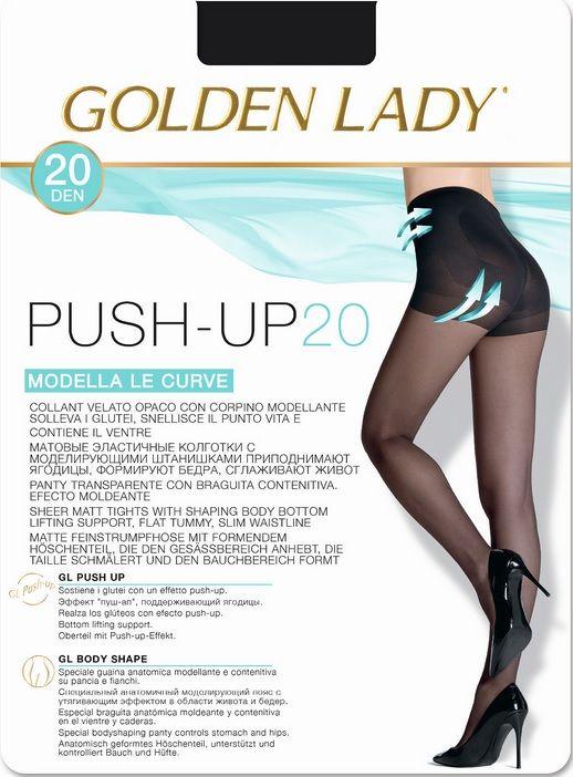 RAJSTOPY GOLDEN LADY PUSH UP 20