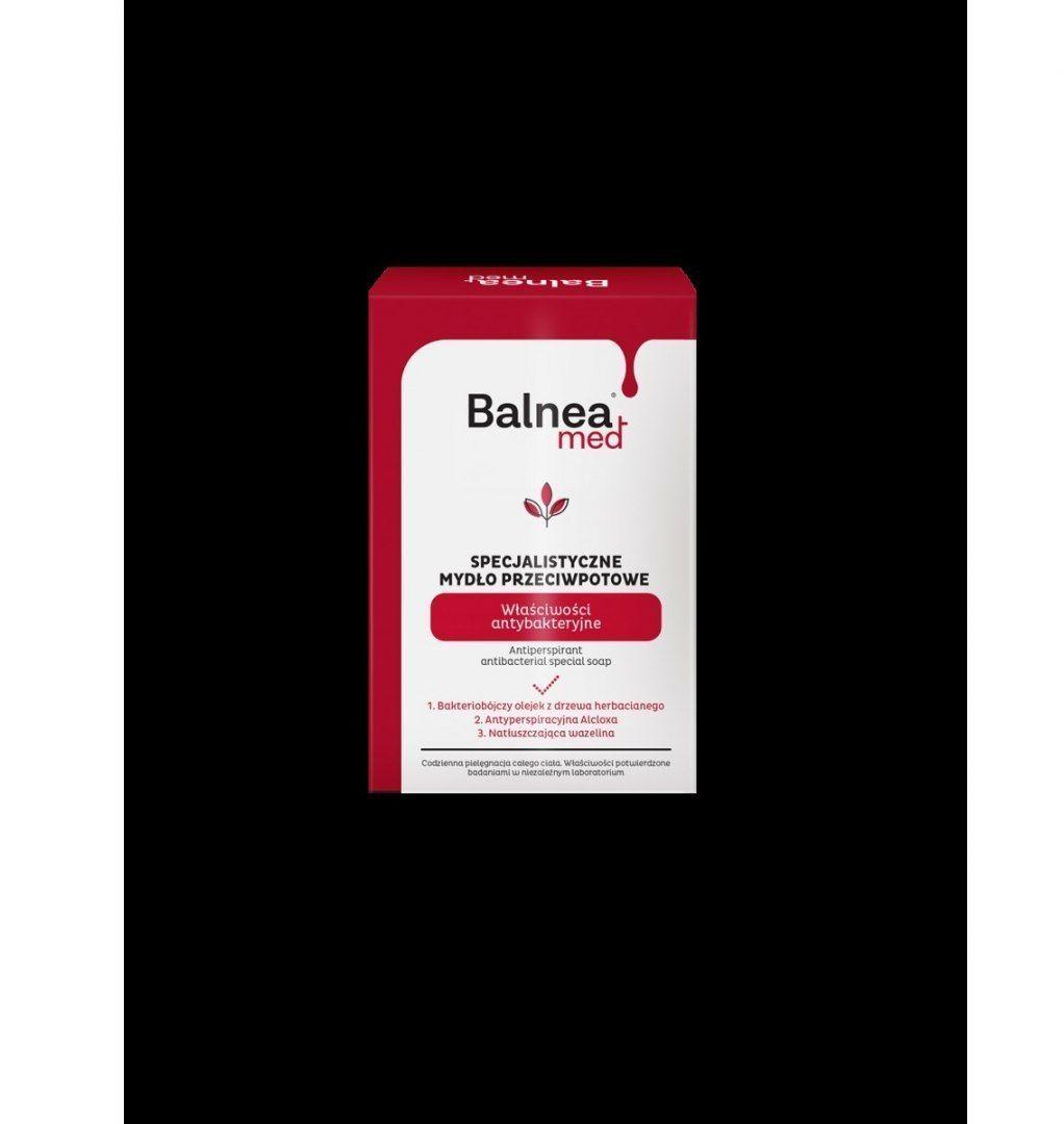 BARWA BARWA Balnea Med Specjalistyczne Mydło w kostce przeciwpotne - antybakteryjne 100g