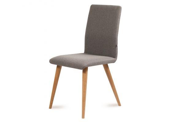 Krzesło classic slim dębowe tapicerowane dowolny kolor nogi