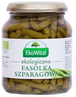 Fasolka Szparagowa w zalewie BIO 180g - EkoWital