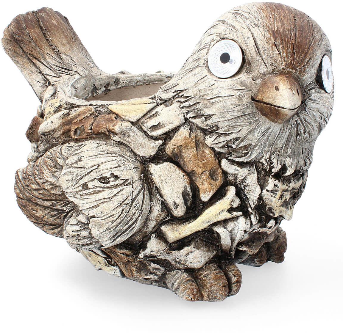 Figurka doniczka ptak 29cm