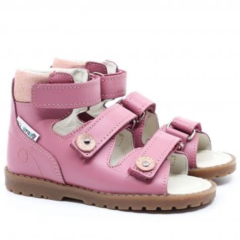 Mrugała Porto 1199/1299/1399 55 sandały sandałki profilaktyczno-rehabilitacyjne dziewczęce