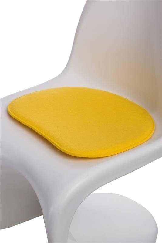 Intesi Balance żółta poduszka na krzesło