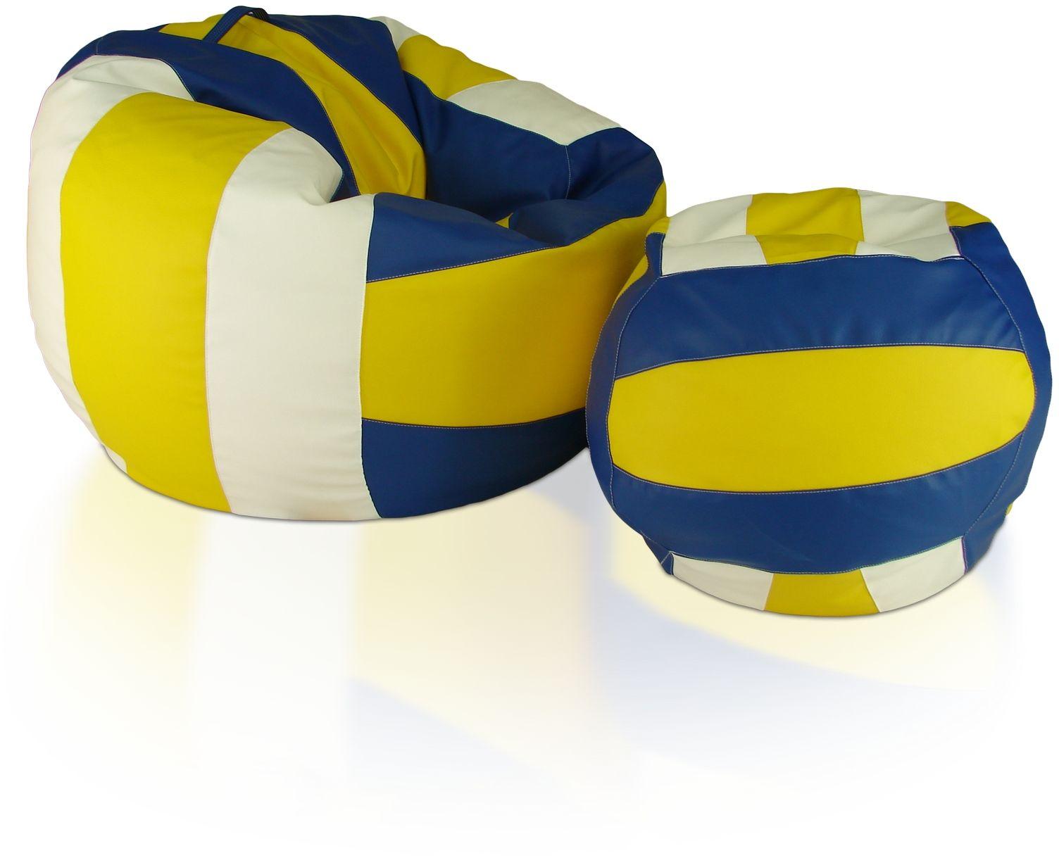 Piłki Volleyball Zestaw XXXL+L Polskie Pufy