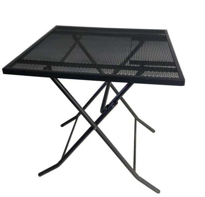 Metalowy stół ogrodowy ZWMT-70F - 72 cm, składany