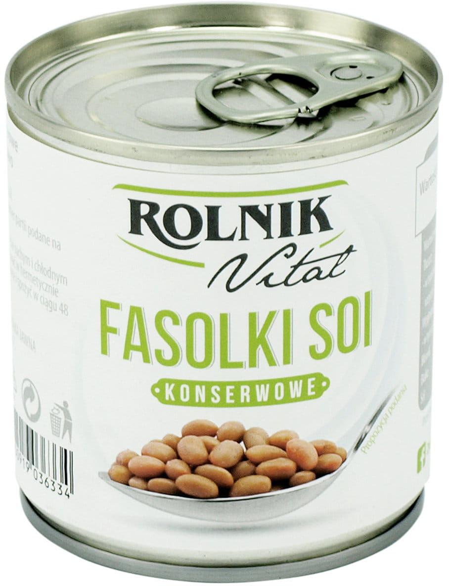 Fasolki Soi Konserwowe BIO 140g - Rolnik
