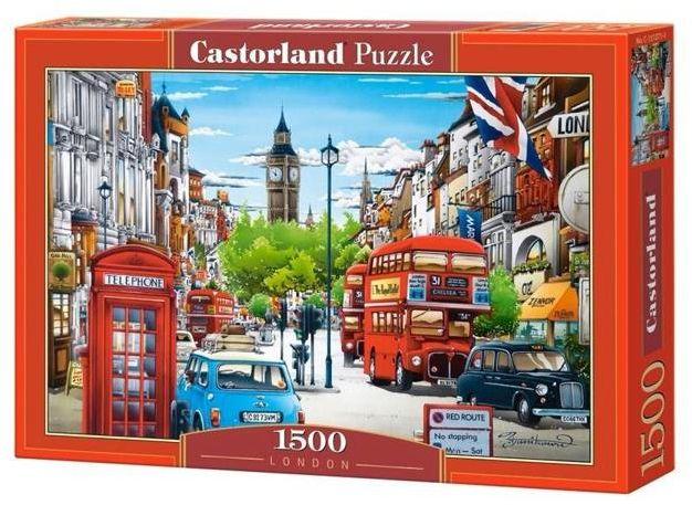 Puzzle 1500 Londyn Castor - Castorland