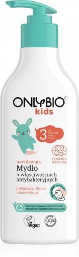 Mydło do rąk nawilżające o właściwościach antybakteryjnych dla dzieci od 3 roku życia ECO 300 ml Only Bio (Baby)