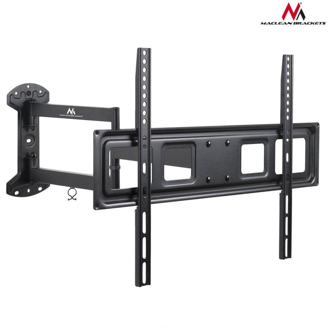 "Uchwyt do telewizora Maclean MC-798 37-70"" 35kg czarny max VESA 600x400"