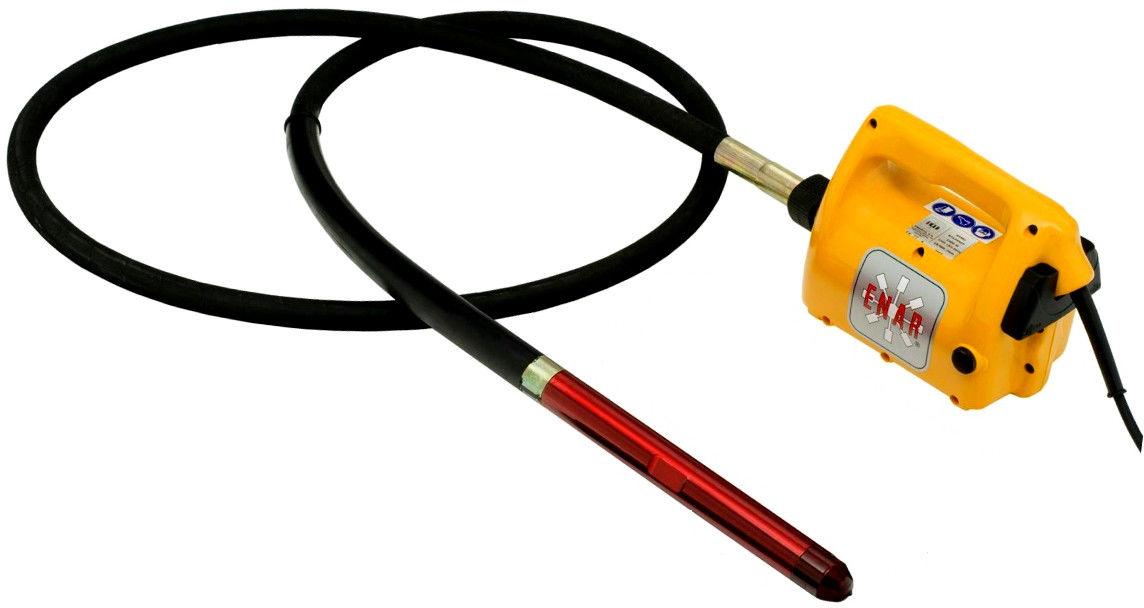 Wibrator pogrążalny Enar Avmu (wałek 1m + buława 25mm)