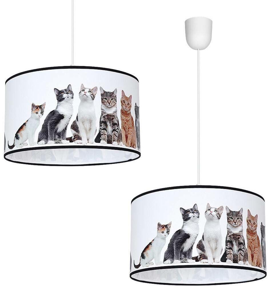 Lampa Wisząca CATS 1xE27