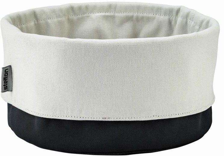 Stelton - koszyk na pieczywo - duży - czarno-piaskowy