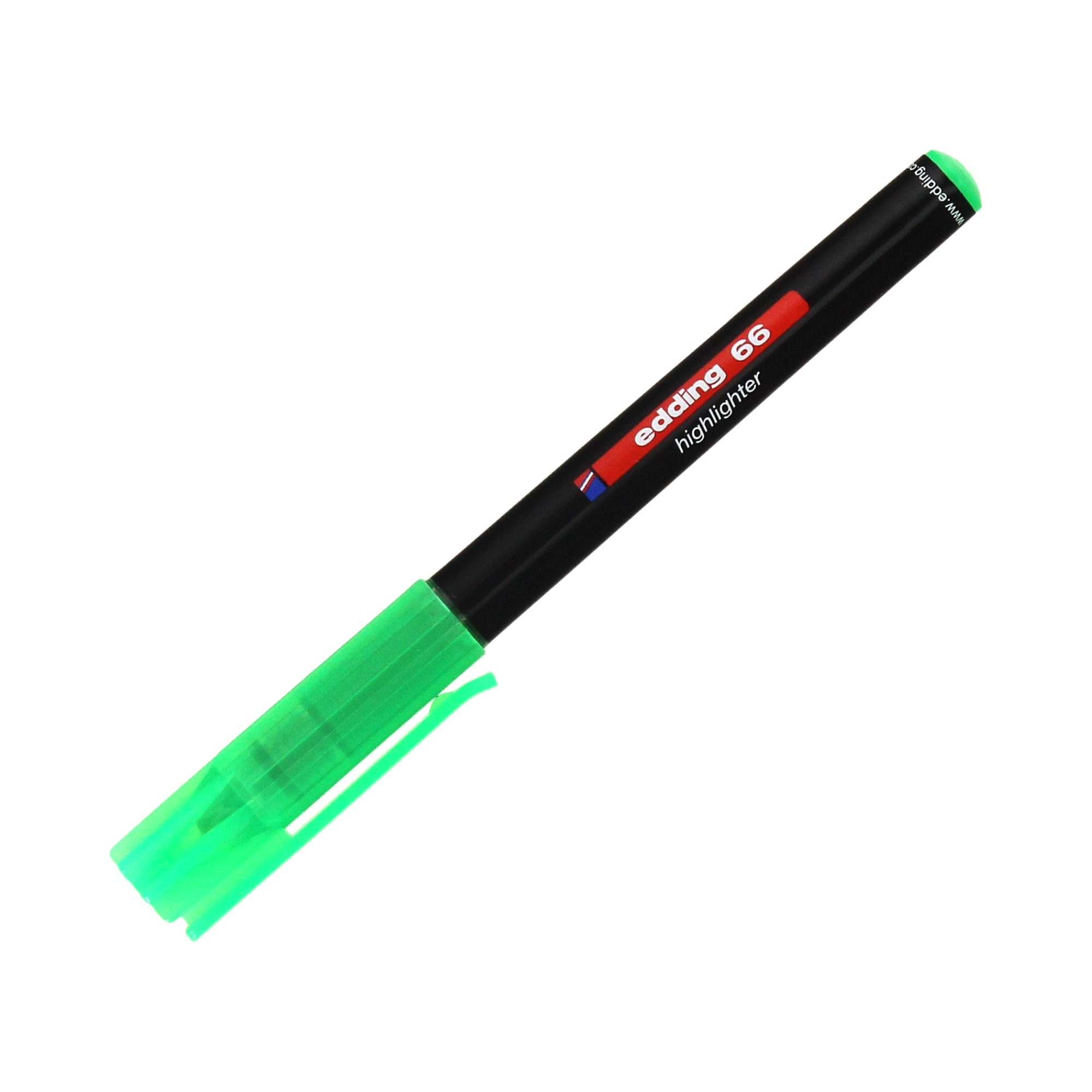 Zakreślacz zielony Edding 66
