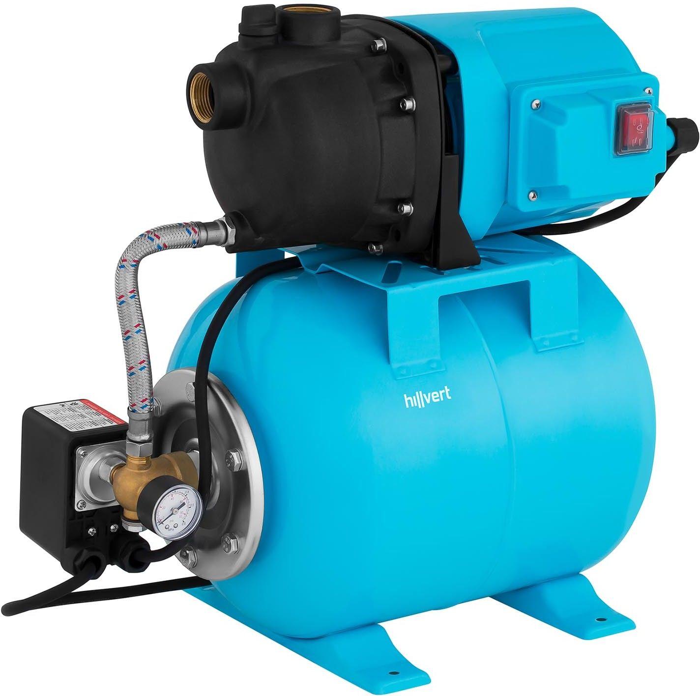Pompa samozasysająca - 19 l - 1200W - Hillvert - HT-ROBSON-JP1200CP - 3 lata gwarancji/wysyłka w 24h