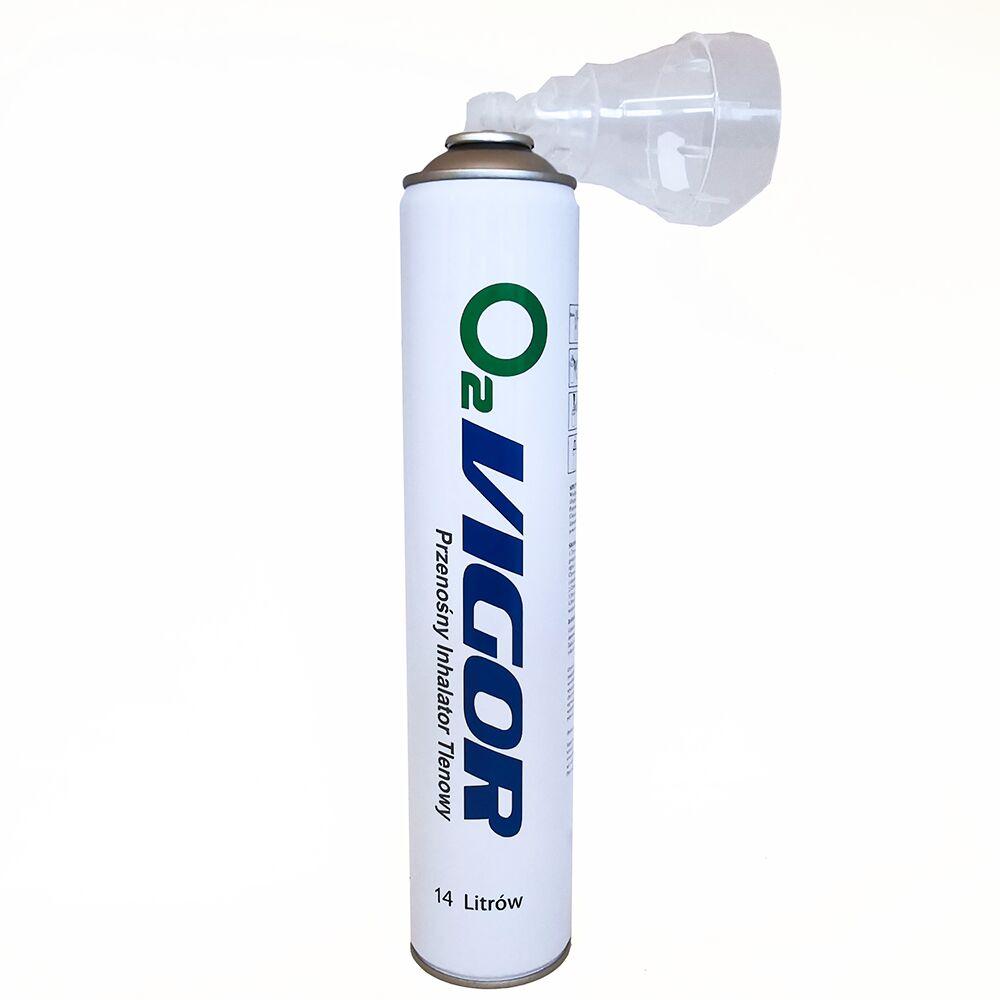 O2 VIGOR - przenośny inhalator tlenowy (14 l)