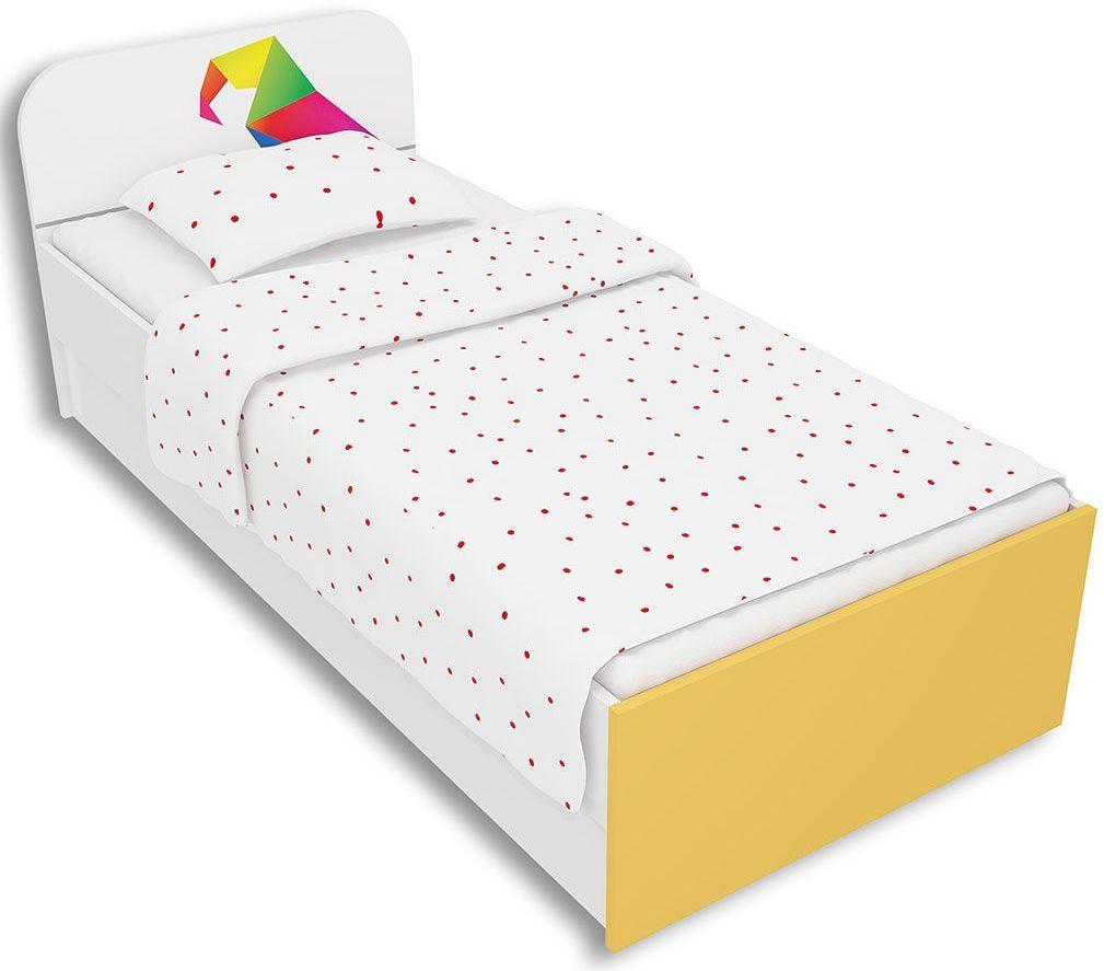 Białe łóżko dziecięce 90x200 Elif 9X - 5 kolorów