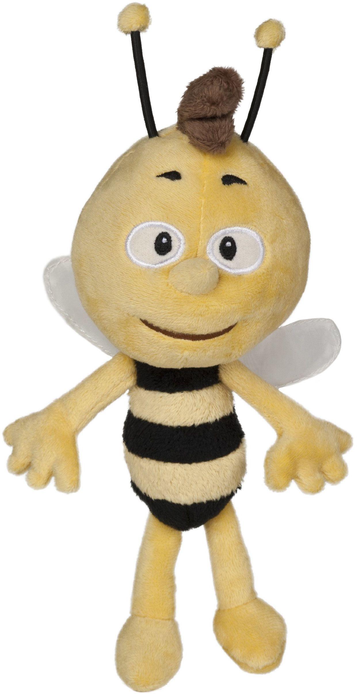 """Studio 100 - MEMB0000040, Pszczółka Maja: Plusz """"Willi"""" ok. 20 cm, wyraz może się różnić"""
