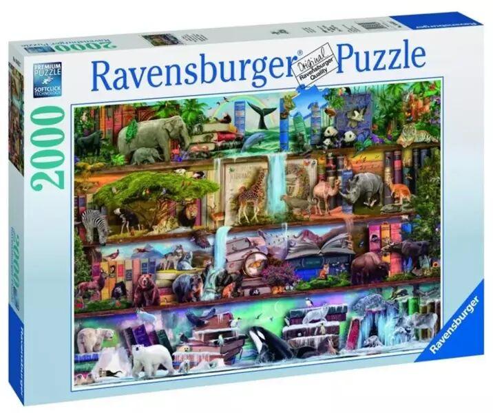 Puzzle 2000 Świat zwierząt - Ravensburger