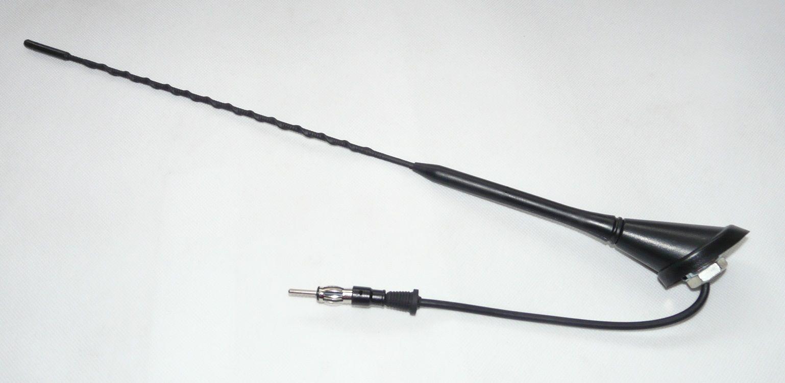 AN10139BW20 Antena samochodowa dachowa + wzmacniacz 20cm din BRT-10139BW20