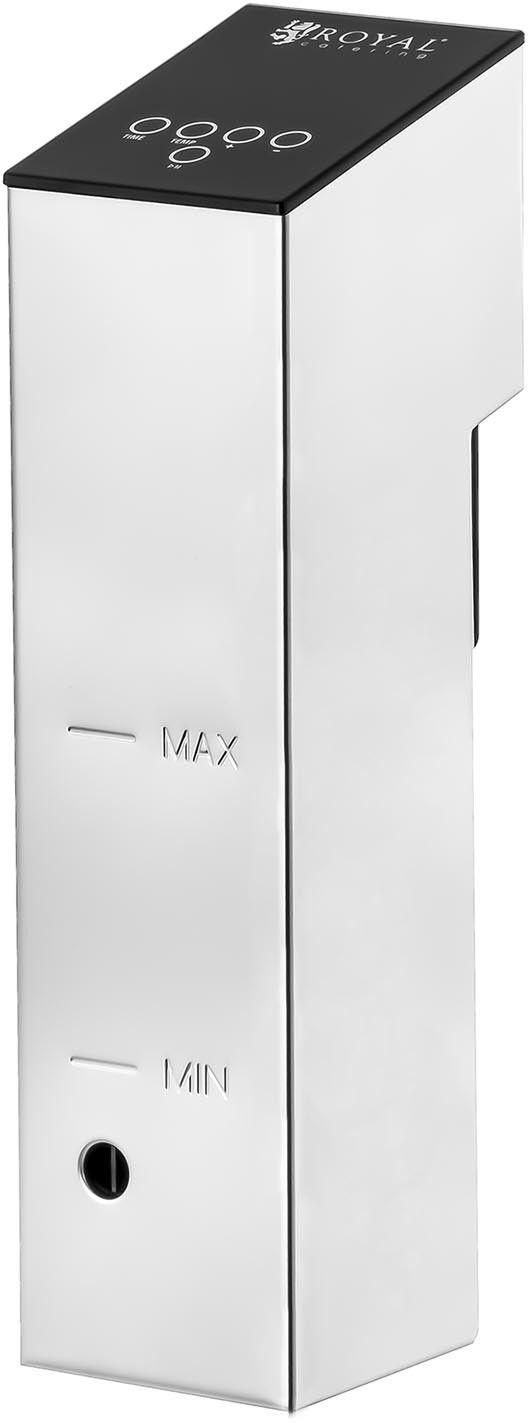 Urządzenie do gotowania sous vide - 1100 W - od 0 do 90 C - Royal Catering - RCSV-02 - 3 lata gwarancji/wysyłka w 24h