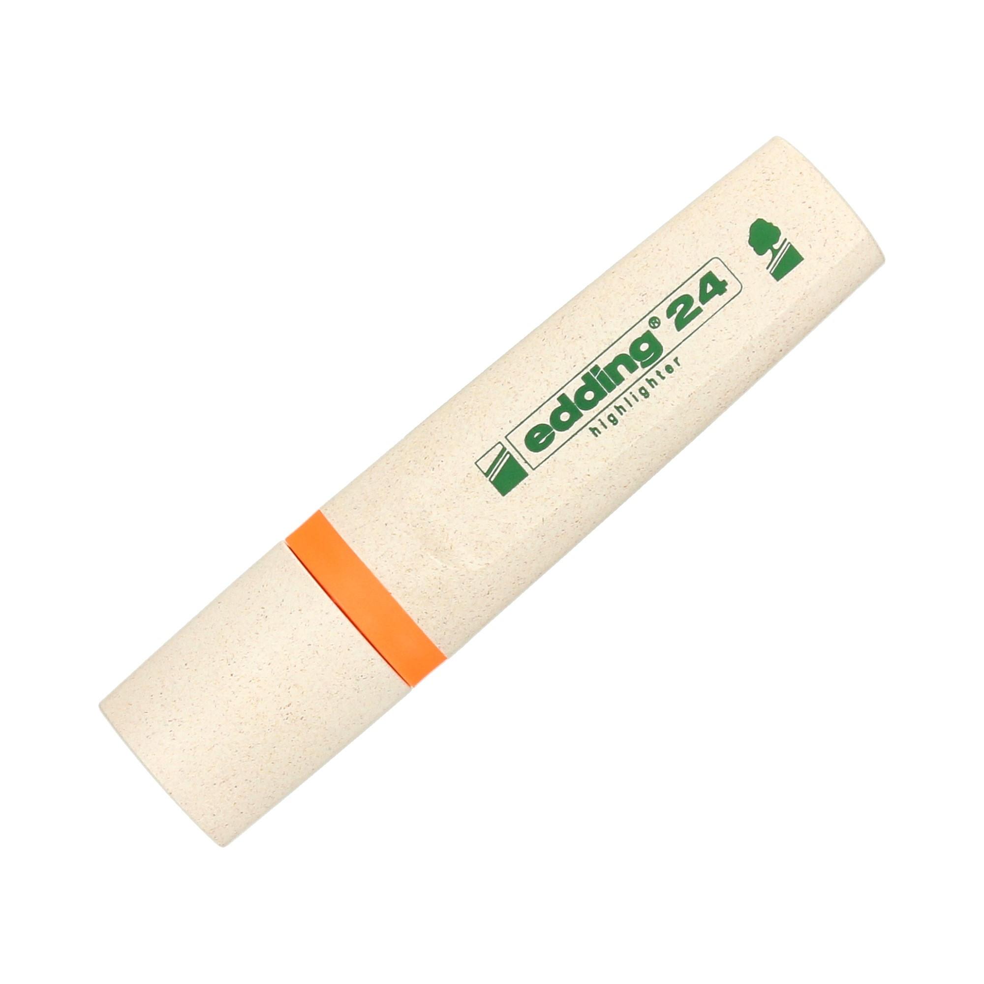 Zakreślacz pomarańczowy Edding 24 EcoLine