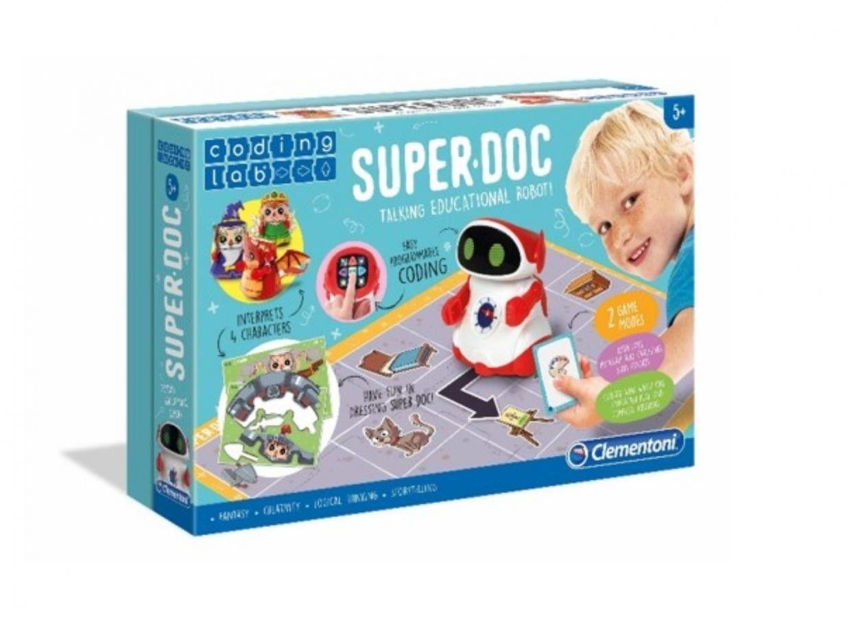 Clementoni - Super DOC Mówiący Robot Edukacyjny 50640