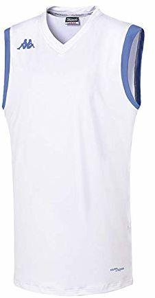 Kappa Atrani Tank Wo damski T-shirt XXL biały
