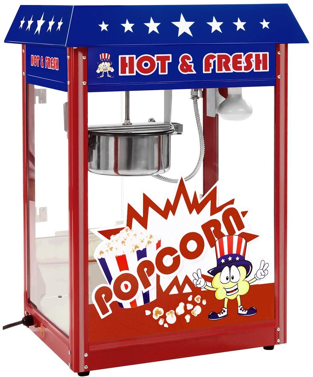 Maszyna do popcornu - amerykański design - Royal Catering - RCPR-16.1 - 3 lata gwarancji/wysyłka w 24h