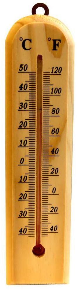 Termometr ZEWNĘTRZNY DREWNIANY DUWI