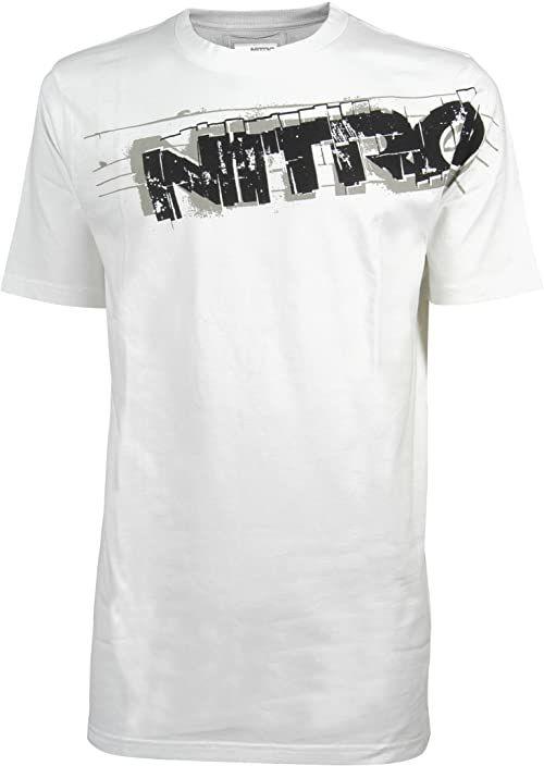 Nitro snowboardowa męska koszulka feedback S/S, biała, S