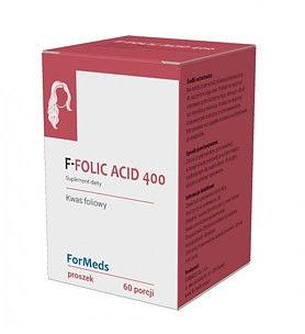F-FOLIC ACID 400 60porcji Kwas Foliowy