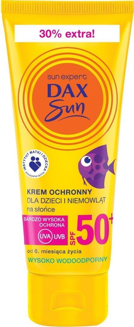 DAX OP. Dax Sun Krem ochronny dla dzieci i niemowląt SPF 50+ 75ml