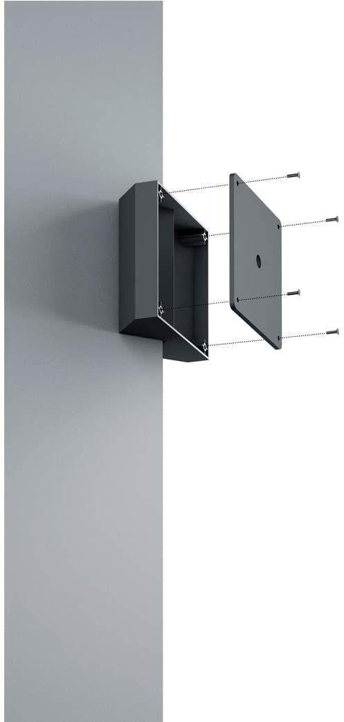 Trio Leuchten Mocowanie narożne 9965-32, do narożników zewnętrznych i wewnętrznych, nadaje się do wszystkich lamp zewnętrznych TRIO