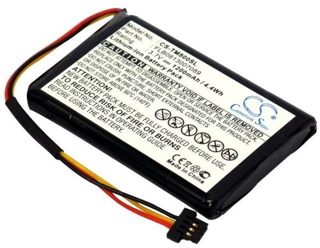 TomTom One XL Traffic / FLB0813007089 1200mAh 4.44Wh Li-Ion 3.7V (Cameron Sino)