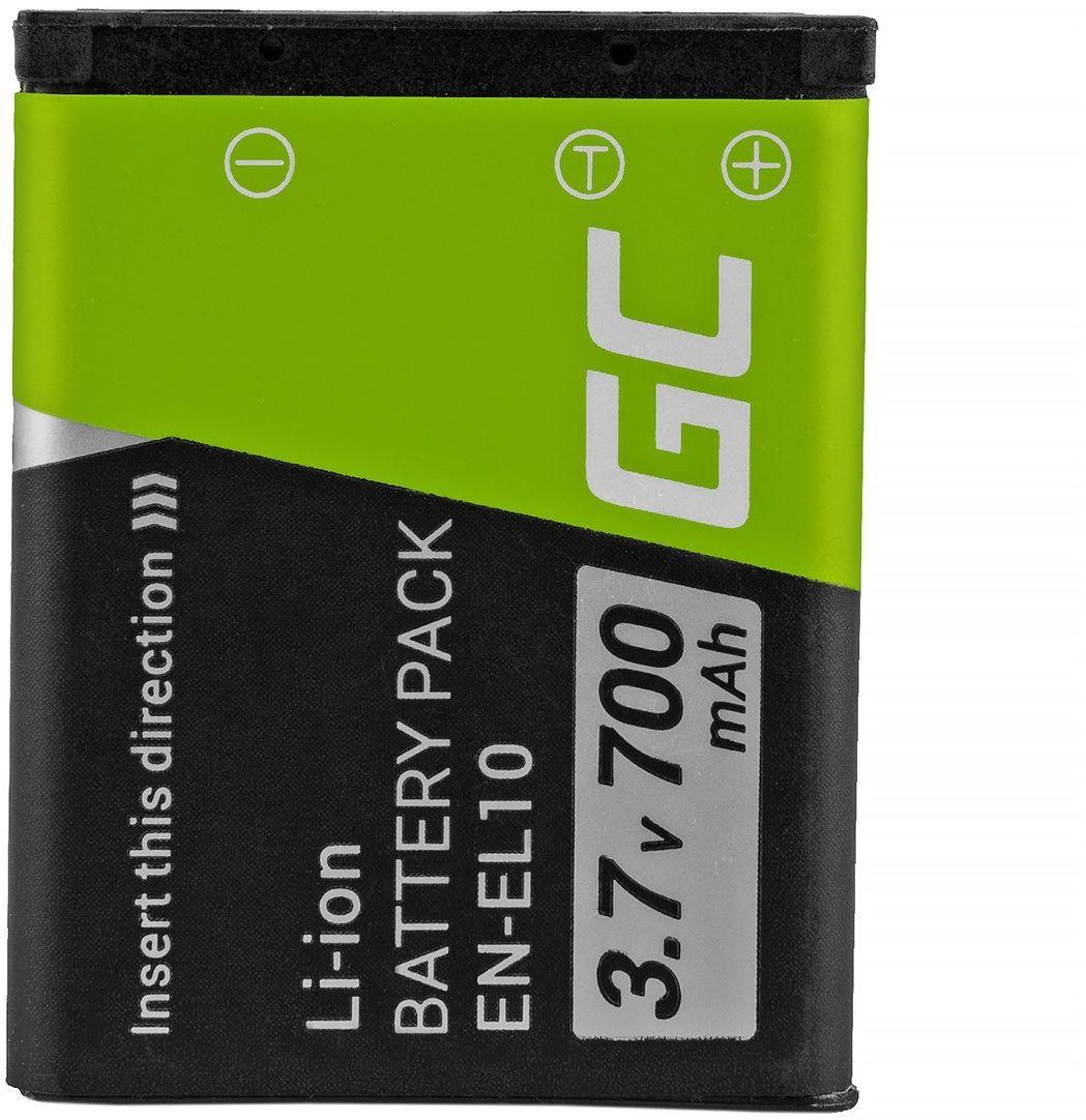 Akumulator Bateria Green Cell  LI-42B EN-EL10 do Olympus Stylus 700 730 740 750 800 Nikon Coolpix S80 S200 S3000 3.7V 700mAh