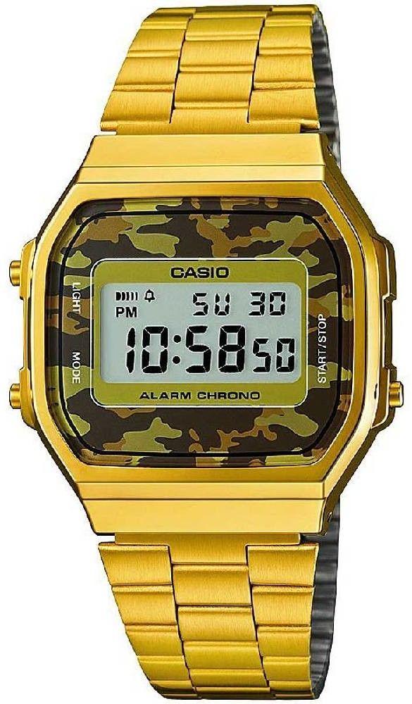 Zegarek Casio A168WEGC-3EF - CENA DO NEGOCJACJI - DOSTAWA DHL GRATIS, KUPUJ BEZ RYZYKA - 100 dni na zwrot, możliwość wygrawerowania dowolnego tekstu.