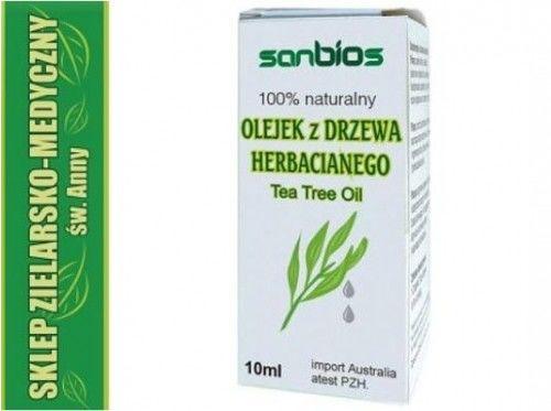 OLEJEK 100% Z DRZEWA HERBACIANEGO 10ml Kosmetyczny Tea Tree Oil
