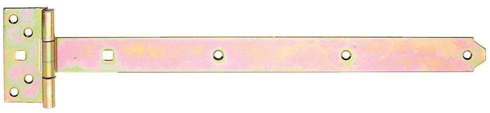 Zawias krzyżowy 400 x 100 mm przykręcany ocynkowany