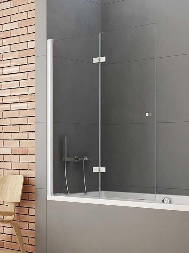 New Trendy parawan nawannowy New Soleo 120 cm lewy, wys. 140 cm, szkło czyste 6 mm P-0030