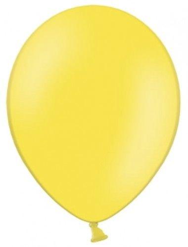 """Balon 5"""" żółty, pastelowy, malutki balonik"""