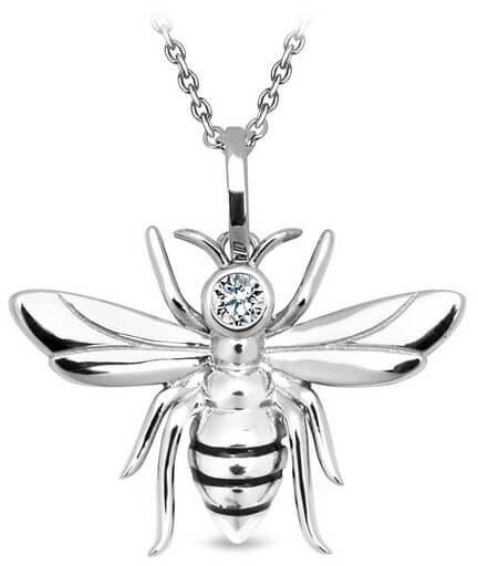Srebrny wisiorek WSR0004 - Cyrkonia