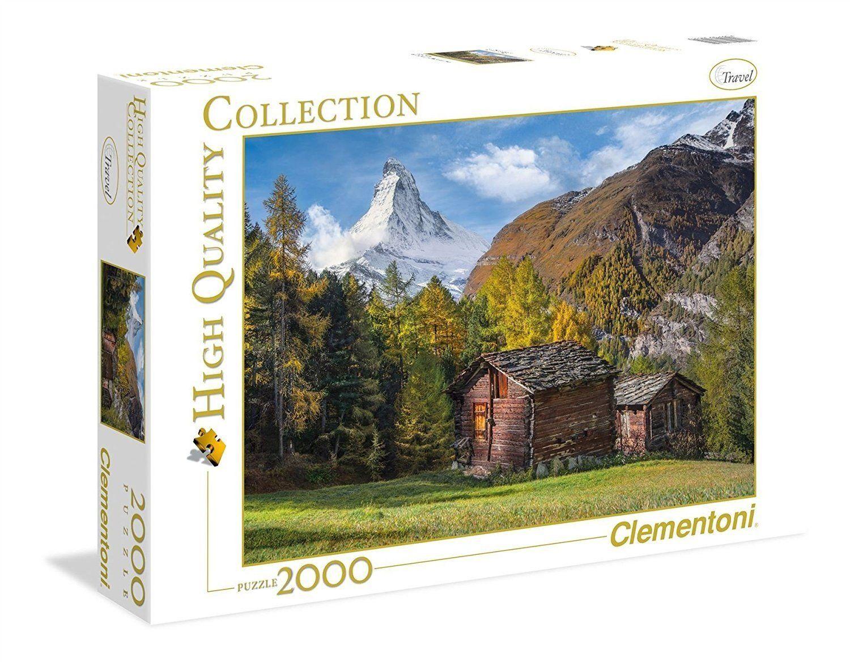 "Clementoni 32561"" fascynujące Matterhorn-puzzle 2000 części High Quality Collection"
