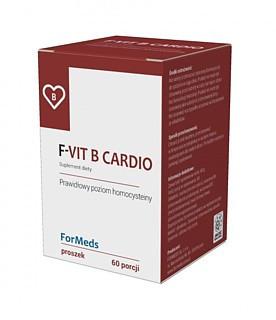 F-VIT B CARDIO 60porcji B6 B12 Kwas Foliowy