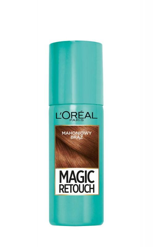 L''Oréal - MAGIC RETOUCH - Spray do błyskawicznego retuszu odrostów - MAHONIOWY BRĄZ
