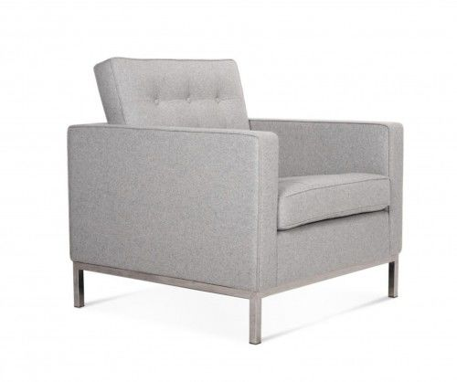 Fotel FLORENCJA wełna- inspirowany proj. Florence Knoll