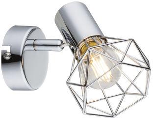 Globo XARA I 54802-1 kinkiet lampa ścienna chrom spot 1xE14 40W 10cm