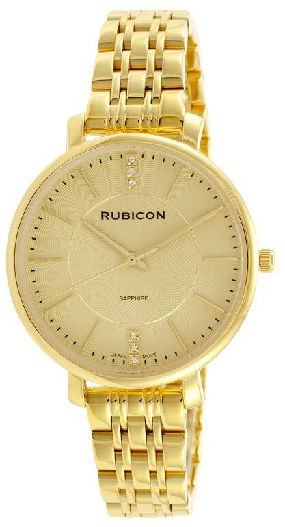 Zegarek RUBICON RNBE52 Złoty/złoty